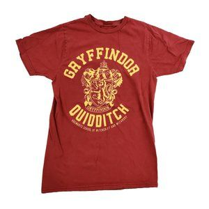 Harry Potter Shirt Men's Small Red Gryffindor EUC